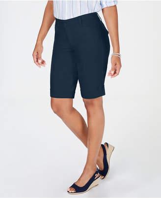 Charter Club Tummy Control Chino Shorts