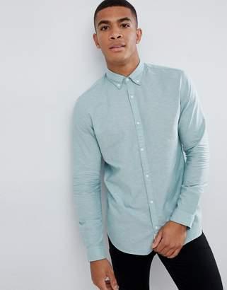 Jack and Jones Linen Mix Shirt