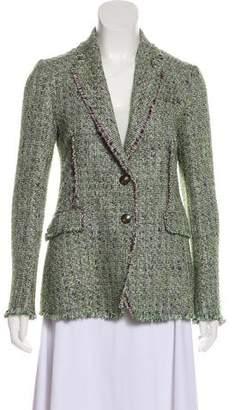 Etro Tweed Notch-Lapel Blazer