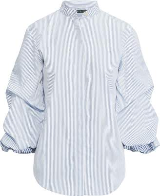 Ralph Lauren Cotton Puff-Sleeve Shirt