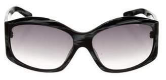 Missoni Round Gradient Sunglasses blue Round Gradient Sunglasses