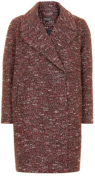 Topshop Topshop Double breasted cocoon coat