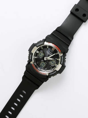 G-Shock G Shock Unisex GAS-100 Tough Solar Watch in Black