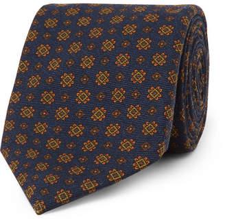 Drakes Drake's 8cm Wool-Jacquard Tie