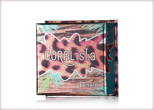 """Benefit CORALista a """"rio"""" pleasure face powder"""