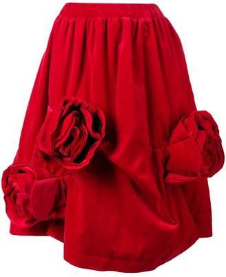 Comme des Garcons corsage detail skirt