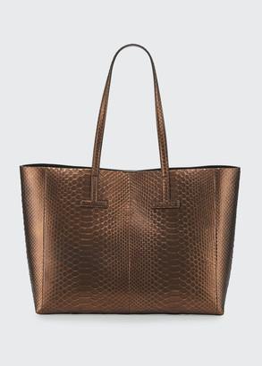 Tom Ford Small Python Tote Bag