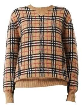 Burberry Banbury Vintage Check Cashmere Sweater
