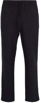 Barena Venezia - Drawstring Waist Stretch Weave Trousers - Mens - Navy