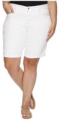Levi's Women's Plus Size Shaping Bermuda Shorts