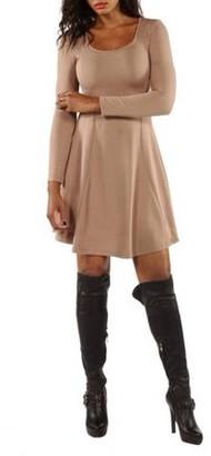 24/7 Comfort Apparel Women's Temptress Midi Dress