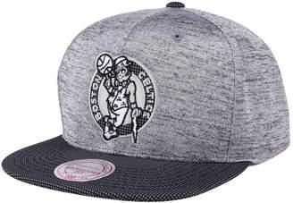 Mitchell & Ness Boston Celtics Space Knit Snapback Cap
