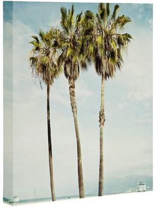 Deny Designs Venice Beach Palms Wall Art