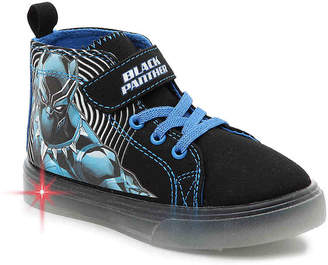Marvel Black Panther Toddler & Youth Light-Up High-Top Sneaker - Boy's