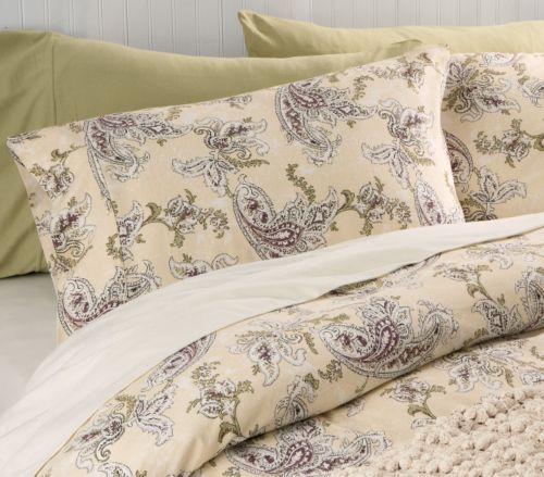 Organic Cotton Vintage Paisley Bedding