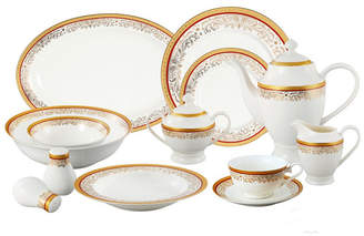 Lorren Home Trends Romina 57-pc Dinnerware Set, Service for 8