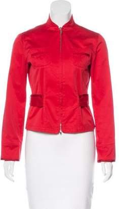 Giorgio Armani Zip-Up Casual Jacket
