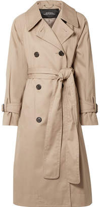 Marc Jacobs Oversized Cotton-twill Trench Coat