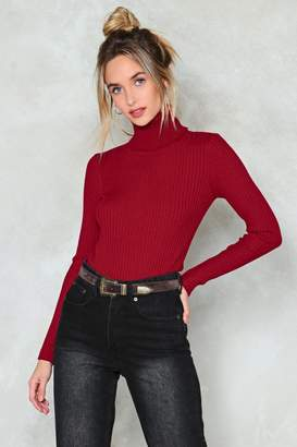 Nasty Gal My Neck of the Woods Turtleneck Sweater