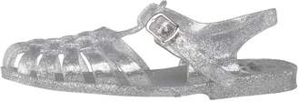 Board Angels Junior Girls Fisherman Jelly Sandals Clear/Silver Glitter