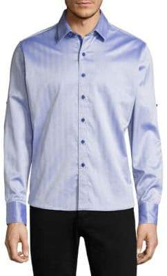 Robert Graham Canton Cotton Casual Button-Down Shirt
