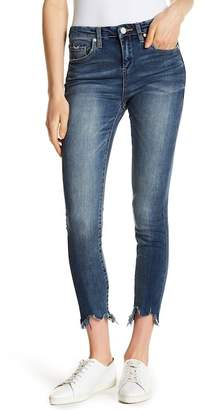 Blank NYC BLANKNYC Denim Shredded Hem Skinny Jeans
