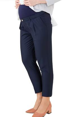 Sweet Mommy Belly Band Maternity Tapered Pants L