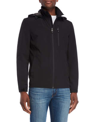 Perry Ellis Stretch Removable Hooded Jacket