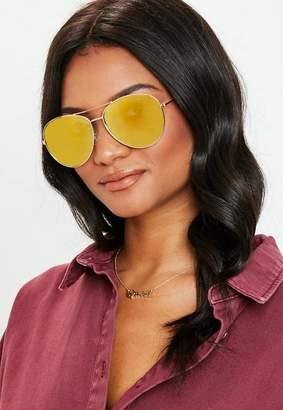 Missguided Aviator Sunglasses