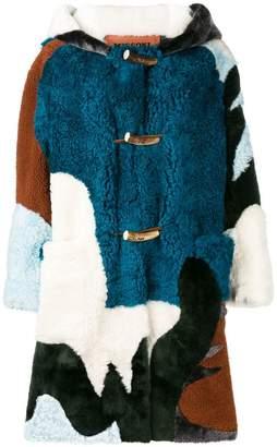 Missoni hooded fur coat