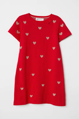 H&M Dress with Applique - Red