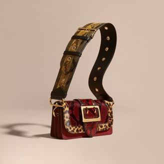 Burberry The Patchwork in Snakeskin and Textured Suede $2,495 thestylecure.com