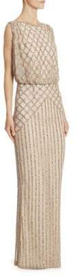 Rachel Gilbert Yuliya Sleeveless Gown