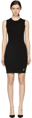 Versus Black Bodycon Safety Pin Dress