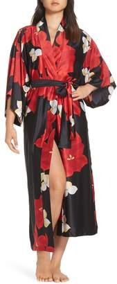 Natori Ginza Charmeuse Robe