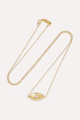 Jennifer Meyer Evil Eye 18-karat Gold Diamond Necklace
