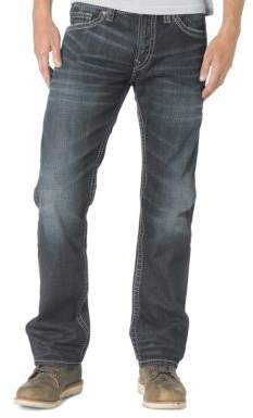 Silver Jeans Co Nash Straight-Leg Jeans
