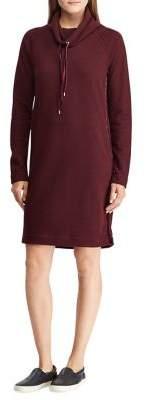Lauren Ralph Lauren French Terry Shift Sweater Dress