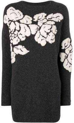 Twin-Set floral motif jumper