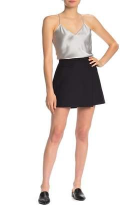 Theory Snap Button Mini Skirt