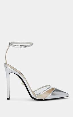 ALEVÌ Milano Women's Alice Leather & PVC Pumps - Silver