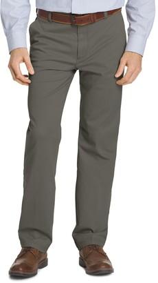 Izod Men's Classic-Fit Performance Flat-Front Pants