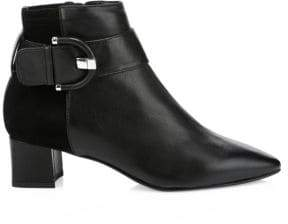 Aquatalia Phiona Leather Ankle Boots