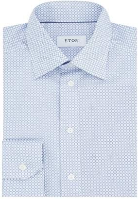 Eton Slim Fit Geometric Shirt