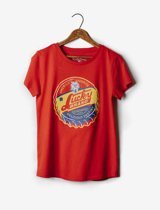 Lucky Brand AMERICA'S FAVE CREW TEE