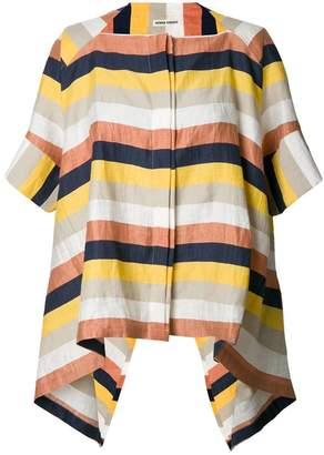 Henrik Vibskov striped flip shirt