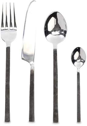 Nkuku Ista Cutlery - Set of 16 - Brushed Silver