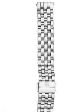 Michele Urban Mini 16 Stainless Steel Five-Link Watch Bracelet