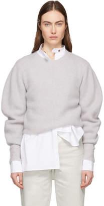 Isabel Marant Grey Cashmere Swinton Sweater