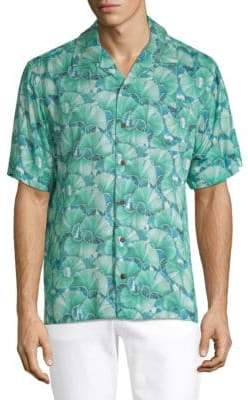 Standard Issue NYC Floral-Print Button-Down Shirt